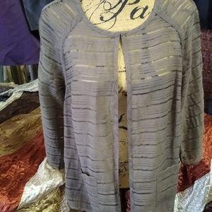 Coldwater Creek Sheer Jacket